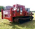 Pitman Polecat 4, Hydraulic Crane rear mounted on Go-Tract GT1600NT All-Terrain Track Machine