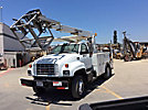 Posi Plus 800-40-015, Telescopic Cable Placing Bucket Truck, rear mounted on, 2000 GMC C6500 Utility Truck