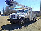 Posi Plus 800-40-015, Telescopic Non-Insulated Cable Placing Bucket Truck, rear mounted on, 2001 GMC C6500 Service Truck