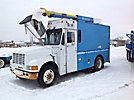 Reach All LM3203, Telescopic Non-Insulated Bucket Truck, mounted on, 1992 International 4700 Step Van