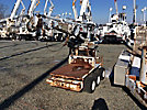 SDP EZ-Hauler, Back Yard Digger Derrick, mounted on, 1997 SDP Rubber Tired Back Yard Carrier