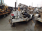 SDP EZ-Hauler, Back Yard Digger Derrick, mounted on, 2004 SDP Crawler All Terrain Vehicle
