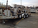 SDP EZ-Hauler, Back Yard Digger Derrick, mounted on SDP Crawler All Terrain Vehicle