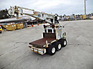 SDP EZ-Hauler 2, Back Yard Digger Derrick, mounted on, 2002 SDP Rubber Tired Back Yard Carrier