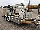 SDP EZ-Hauler 2500, Back Yard Digger Derrick, mounted on, 2004 SDP Tracked Backyard Carrier