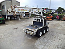SDP EZ-Hauler 2500, Back Yard Digger Derrick, mounted on, 2005 SDP Rubber Tired Back Yard Carrier