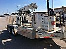 SDP EZ-Hauler 2500, Back Yard Digger Derrick, mounted on, 2006 SDP Tracked Backyard Carrier
