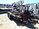 SDP EZ-Hauler 2500, Back Yard Digger Derrick, trailer mounted Brooks T/A Tilt Top Tagalong Trailer