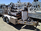 SDP EZ-Hauler 2500, Back Yard Digger Derrick, trailer mounted EZ Hauler 2500 Series 2 Support Trailer