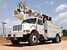 Simon Telelect 92-45, Digger Derrick rear mounted on 1995 International 4900 Utility Truck