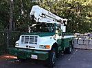 Simon-Telelect HiRanger 42-OM, Material Handling Bucket Truck rear mounted on 1992 International 4800 4x4 Utility Truck