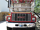 Skyhoist RX87, Sign Crane Platform Lift rear mounted on 1999 GMC C7500 Utility Truck