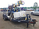 Skylift MiniD33+, Back Yard Digger Derrick, mounted on, 2004 SkyLift Mini-D33 Plus Rubber Tired Back Yard Carrier