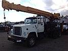 Sreco-Flexible Hy-Power HS393TM/PTO, Hydraulic Truck Crane rear mounted on 1978 Ford 8000 Hydraulic Truck Crane