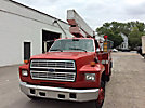 Stelco, Telescopic Insulated Bucket Truck, mounted behind cab on, 1990 Ford F600 Utility Truck