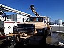 Sterling B7, Pressure Digger, rear mounted on, 1987 Ford F700 4x4 Flatbed Truck