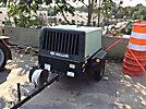 Sullair 185DPQ-2WPE Portable Air Compressor, trailer mtd