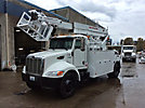 TELSTA T40AS, Telescopic Material Handling Cable Placing Bucket Truck, rear mounted on, 2008 Peterbilt PB335 Utility Truck