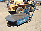 Taylor-Dunn SC1-59 1000# Stand-Up Warehouse Cart, s/n 100890, electric, with onboard battery charger