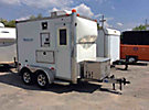 Team Spirit, 2005 Techline Engineering TCT610 T/A Enclosed Fiber Optic Splicing trailer, with 6'x10' body, rear & curbside doors, A/C & Honda EV6010 6000 watt generator