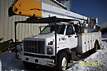 Teco  V5A-50IP-2TFE2, Bucket Truck, rear mounted on, 1996 GMC Topkick Utility Truck