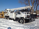 Teco A6-60R-FT33-CTW0, rear mounted on, 1995 GMC Topkick T/A Flatbed/Utility Truck