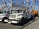 Teco V5-45IP-4TFS2, Material Handling Bucket Truck center mounted on 1997 International 4700 Utility Truck