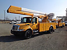 Teco V5-50I05-4TFE2, Bucket Truck, rear mounted on, 2005 International 4300 Utility Truck