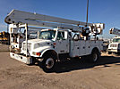 Teco V5A-50IP-2TFE2, Bucket Truck, rear mounted on, 2001 International 4900 Utility Truck