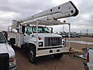 Teco V5A-55IP-2TFE2, Bucket Truck, rear mounted on, 2000 GMC C7500 Utility Truck