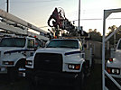 Telelect 4045, Digger Derrick, rear mounted on, 1998 Ford F800 Utility Truck