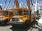 Telelect 4045, Digger Derrick rear mounted on 2007 International 4300 Utility Truck