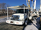 Telelect 4047, Digger Derrick, rear mounted on, 2003 International 4300 Flatbed/Utility Truck