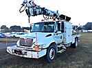 Telelect 4047, Digger Derrick mounted behind cab on 2002 International 4300 Utility Truck