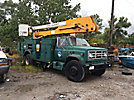 Telelect 5000, Material Handling Bucket, rear mounted on, 1987 GMC C7000 Service Truck