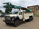 Telelect 6000, Digger Derrick, rear mounted on, 1990 Ford FT900 T/A Utility Truck