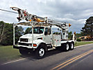 Telelect 6000, Digger Derrick, rear mounted on, 2002 Sterling Acterra T/A Flatbed/Utility Truck