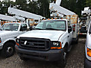 Telelect C327, Telescopic Non-Insulated Bucket Truck mounted behind cab on 1999 Ford F450 Service Truck