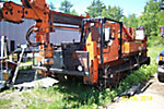 Telelect CII60 PG, Digger Derrick, rear mounted on, 1986 Go-Tract GT3000 All-Terrain Track Machine
