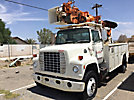 Telelect Captain 1000, Digger Derrick rear mounted on 1983 Ford F800 Utility Truck
