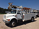 Telelect Commander 4045, Digger Derrick, rear mounted on, 1998 International 4700 Utility Truck