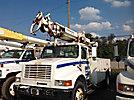 Telelect Commander 4045, Digger Derrick, rear mounted on, 1998 International 4700 Utility Truck