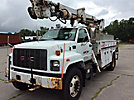 Telelect Commander 4045, Digger Derrick, rear mounted on, 1999 GMC C7500 Utility Truck