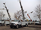 Telelect Commander 4045, Digger Derrick, rear mounted on, 2004 Ford F750 Utility Truck