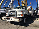 Telelect Commander 4045, Digger Derrick mounted behind cab on 1997 Ford F800 Utility Truck