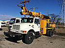 Telelect Commander 4045, rear mounted on, 2000 International 4800 4x4 Flatbed/Utility Truck