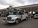 Telelect Commander 4047, Digger Derrick, rear mounted on, 2007 International 4300 Utility Truck