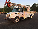 Telelect Commander 4047, Digger Derrick rear mounted on 2003 International 4300 Utility Truck
