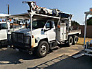Telelect Commander 4047, Digger Derrick rear mounted on 2005 GMC C8500 T/A T/A Flatbed/Utility Truck