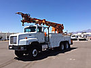 Telelect Commander 5000, Digger Derrick, rear mounted on, 1999 International F5070 6x6 Utility Vehicle